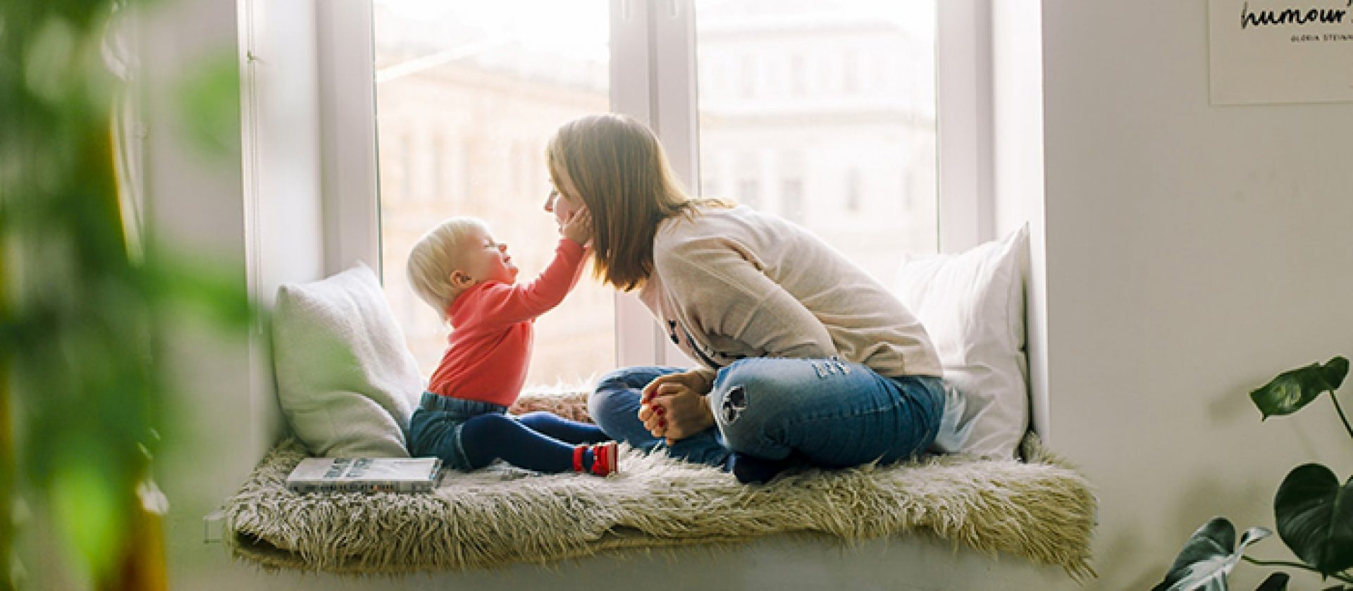 how meditation can help new families